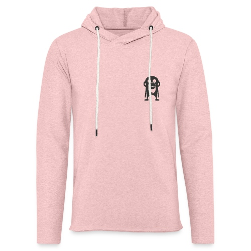 Der Bamberger Affe - Leichtes Kapuzensweatshirt Unisex