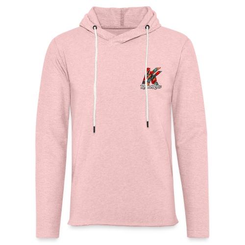 Karma Krew finalized logo png - Light Unisex Sweatshirt Hoodie