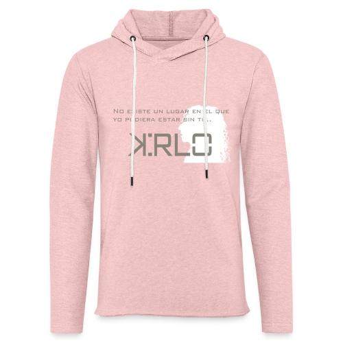 Camisetas Kirlo Sin Ti - Sudadera ligera unisex con capucha