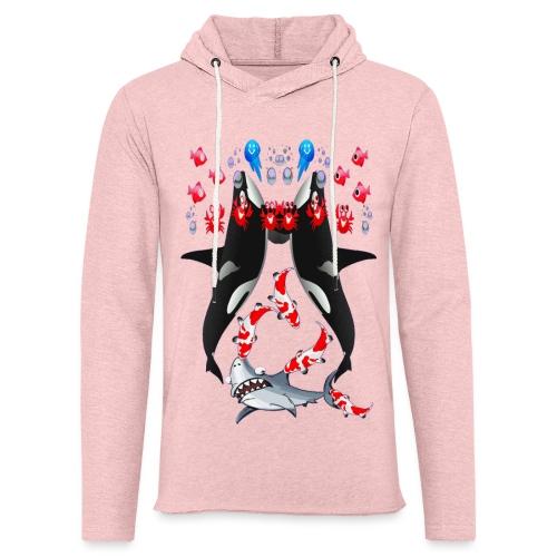 Sea Party - Sweat-shirt à capuche léger unisexe