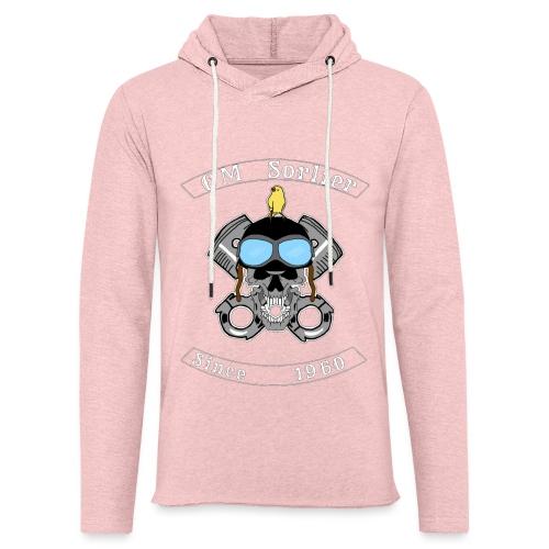 Club moto - Sweat-shirt à capuche léger unisexe