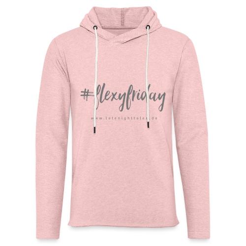 #flexyfriday - GREY - Leichtes Kapuzensweatshirt Unisex