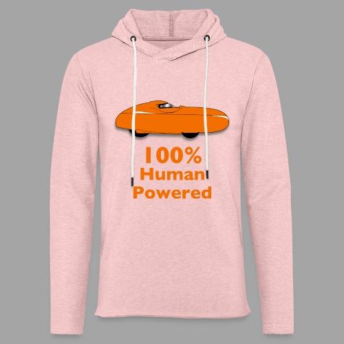 100% human powered - Kevyt unisex-huppari