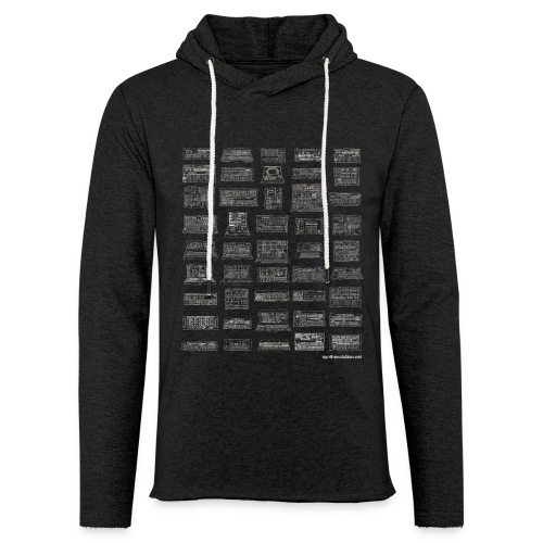 Synth Evolution T-shirt - Black - Light Unisex Sweatshirt Hoodie