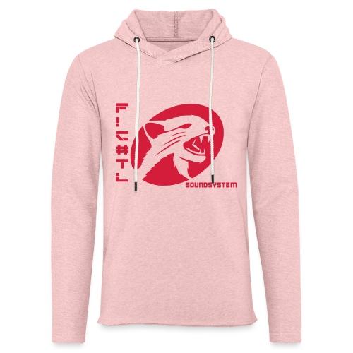 F!€#TL Soundsystem Rot - Leichtes Kapuzensweatshirt Unisex