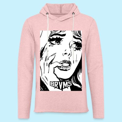 BRVMS / BLOOD BOUND / - Sweat-shirt à capuche léger unisexe