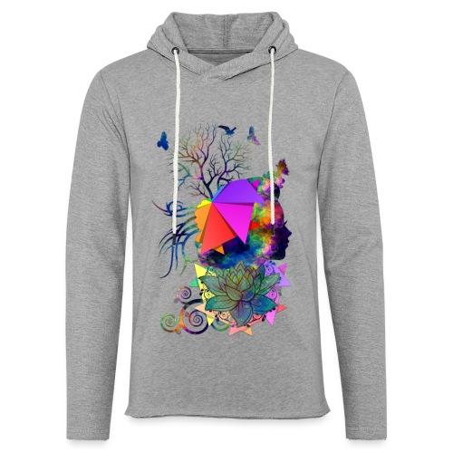 Lady Colors by T-shirt chic et choc - Sweat-shirt à capuche léger unisexe