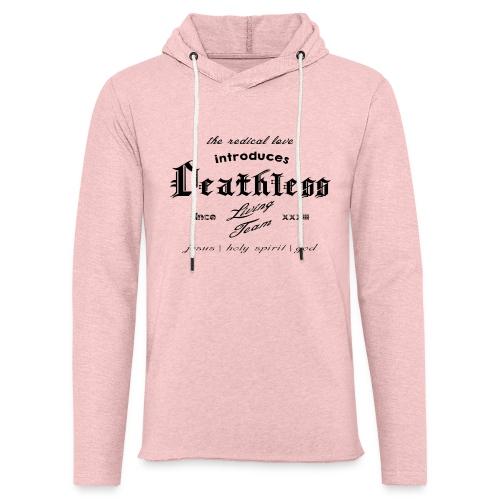 deathless living team schwarz - Leichtes Kapuzensweatshirt Unisex