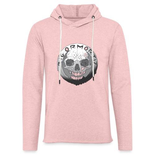 Rigormortiz Black and White Design - Light Unisex Sweatshirt Hoodie