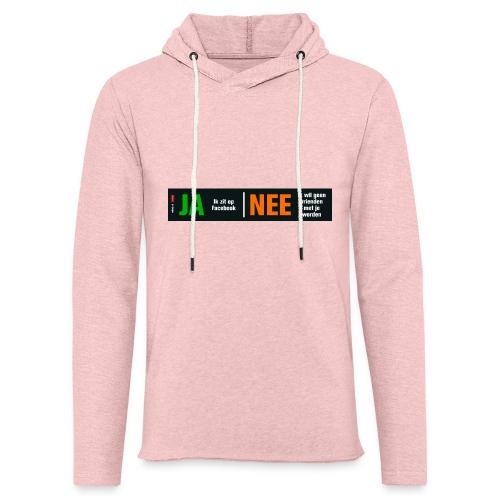 facebookvrienden - Lichte hoodie unisex