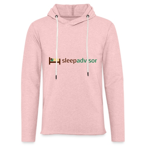 SleepAdvisor - Felpa con cappuccio leggera unisex