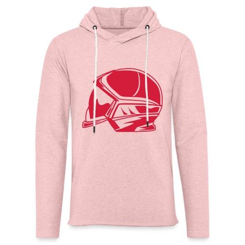new casque - Sweat-shirt à capuche léger unisexe