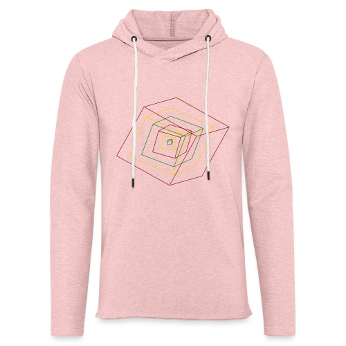 Rasta Cubes - Sweat-shirt à capuche léger unisexe