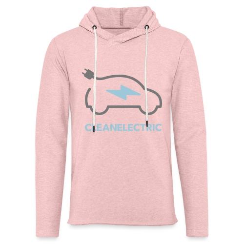 CLEANELECTRIC Logo - Leichtes Kapuzensweatshirt Unisex