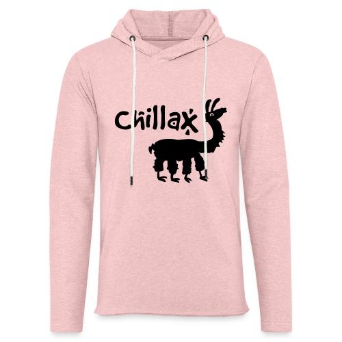 chillax - Leichtes Kapuzensweatshirt Unisex