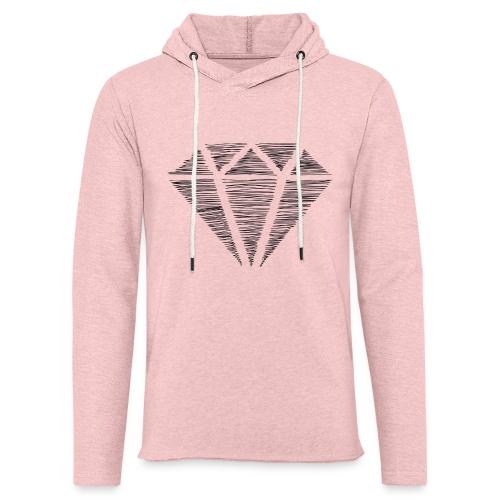 Diamante - Sudadera ligera unisex con capucha