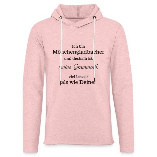 Gladbacher Grammatik - Leichtes Kapuzensweatshirt Unisex