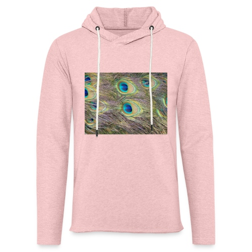 Peacock feathers - Kevyt unisex-huppari