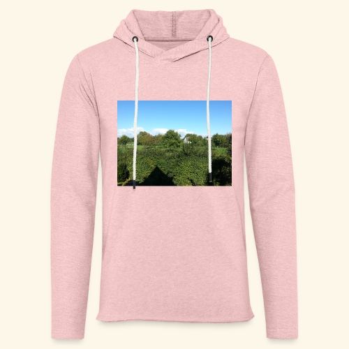Jolie temps ensoleillé - Sweat-shirt à capuche léger unisexe