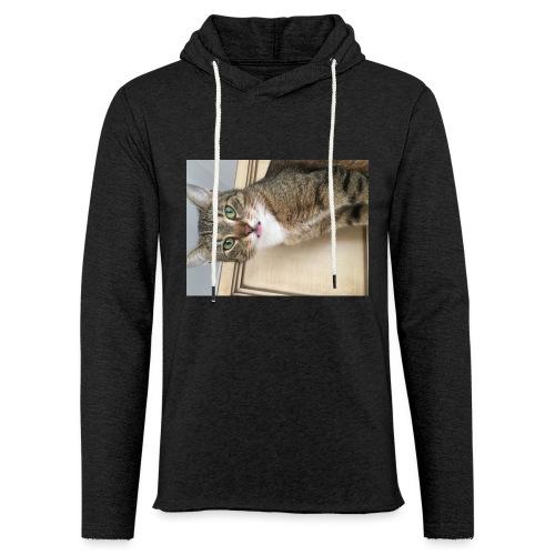 Kotek - Lekka bluza z kapturem