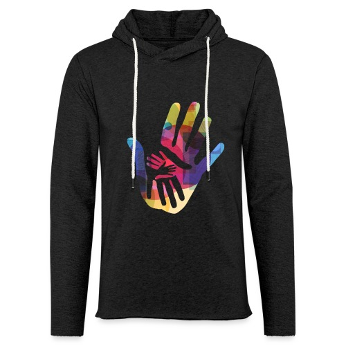 logo_storien - Lett unisex hette-sweatshirt