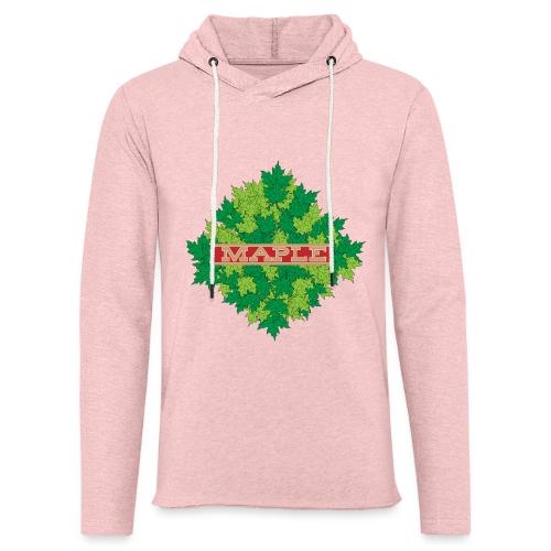 maple - Leichtes Kapuzensweatshirt Unisex