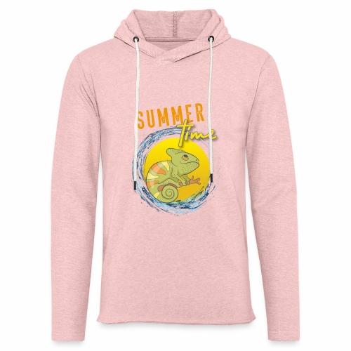 Chamäleon - Leichtes Kapuzensweatshirt Unisex
