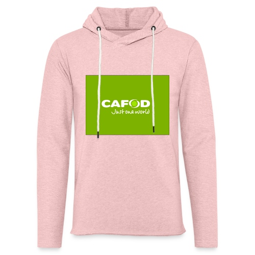 CAFOD Logo greenback - Light Unisex Sweatshirt Hoodie