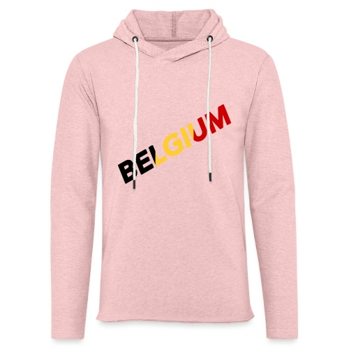 BELGIUM - Sweat-shirt à capuche léger unisexe