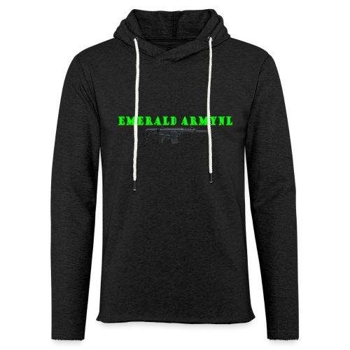 EMERALDARMYNL LETTERS! - Lichte hoodie unisex