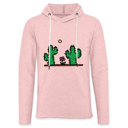 Cactus - Felpa con cappuccio leggera unisex