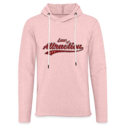 Law of Attraction Vintage - Sweat-shirt à capuche léger unisexe