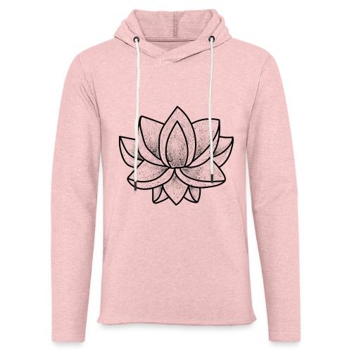 Lotus - Sweat-shirt à capuche léger unisexe