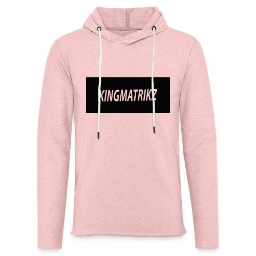 kingmatrikz - Let sweatshirt med hætte, unisex