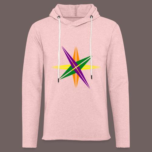 GBIGBO zjebeezjeboo - Love - Couleur d'étoile brillante - Sweat-shirt à capuche léger unisexe