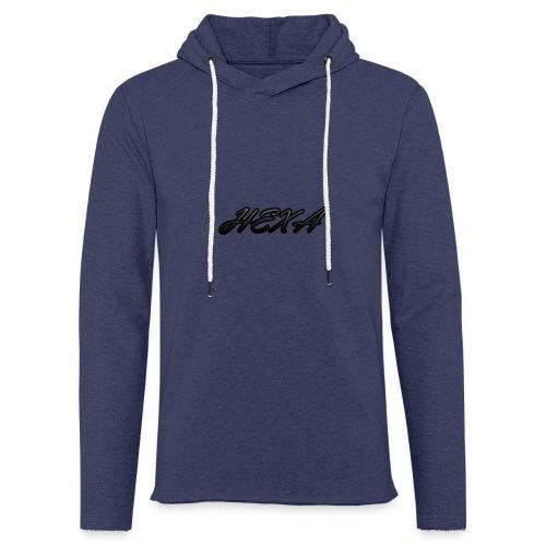 HexaDesignBlackLogo - Light Unisex Sweatshirt Hoodie