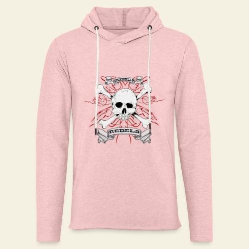 skull - Let sweatshirt med hætte, unisex