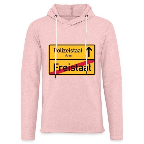 Freistaat Bayern Polizeistaat - Leichtes Kapuzensweatshirt Unisex