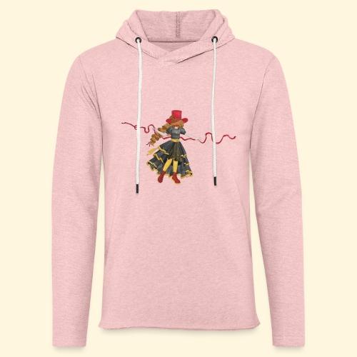 Ladybird - La célèbre uchronaute - Sweat-shirt à capuche léger unisexe