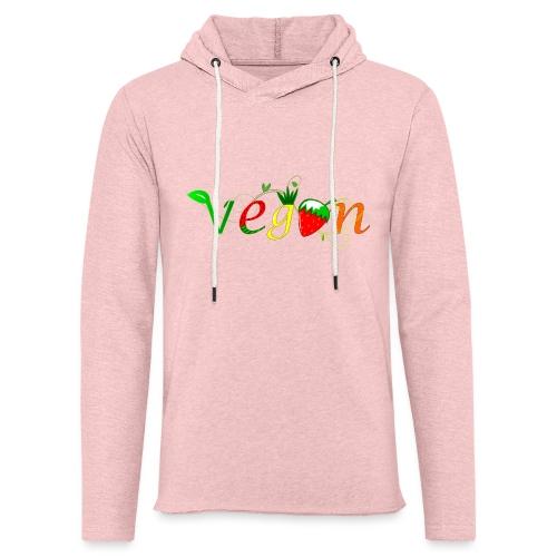 Vegan - Sudadera ligera unisex con capucha