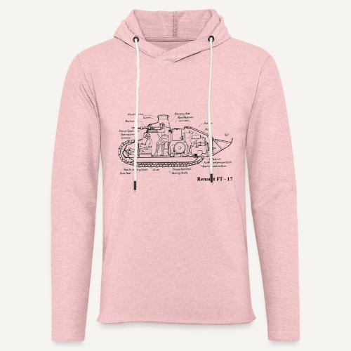 ft17 - Lekka bluza z kapturem