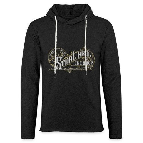 StaalBBQ - Let sweatshirt med hætte, unisex