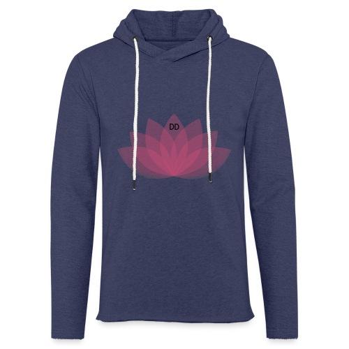 DOE JE DING #LOTUS - Lichte hoodie unisex