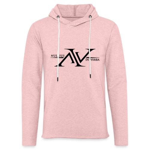 Nullius In Verba Logo - Light Unisex Sweatshirt Hoodie