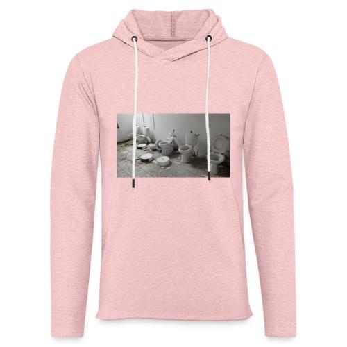 Toilets - Let sweatshirt med hætte, unisex