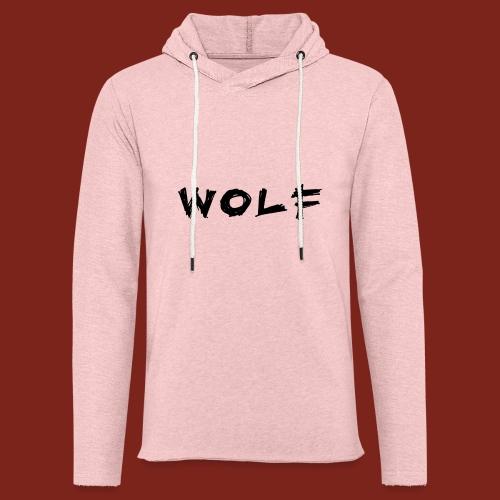 Wolf Font png - Lichte hoodie unisex