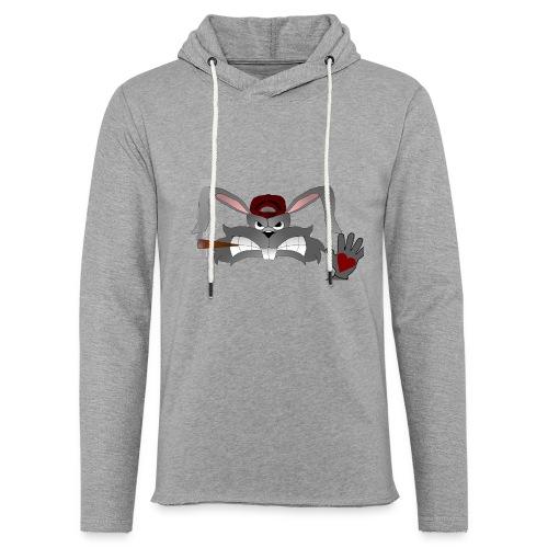 Hallo How are you - Let sweatshirt med hætte, unisex