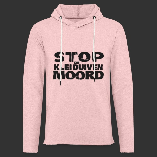 kleiduivenmoord - Lichte hoodie unisex