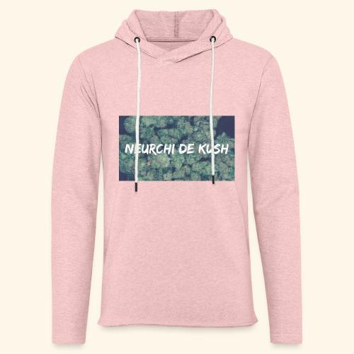 NEURCHI DE KUSH - Sweat-shirt à capuche léger unisexe