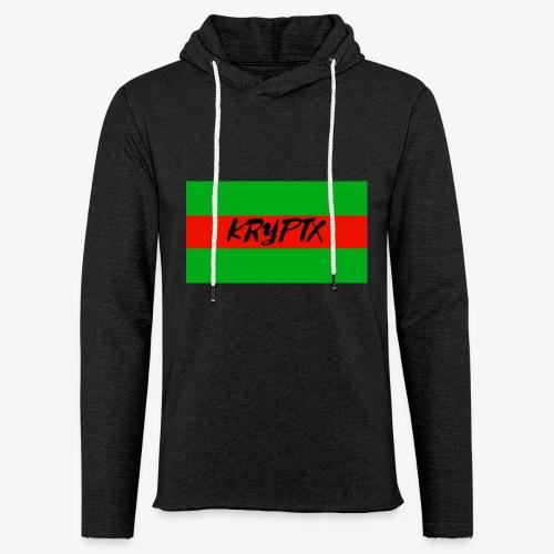 KRYPTX 2 - Sweat-shirt à capuche léger unisexe